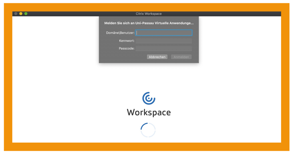 MacOS Citrix Workspace App Schritt 4