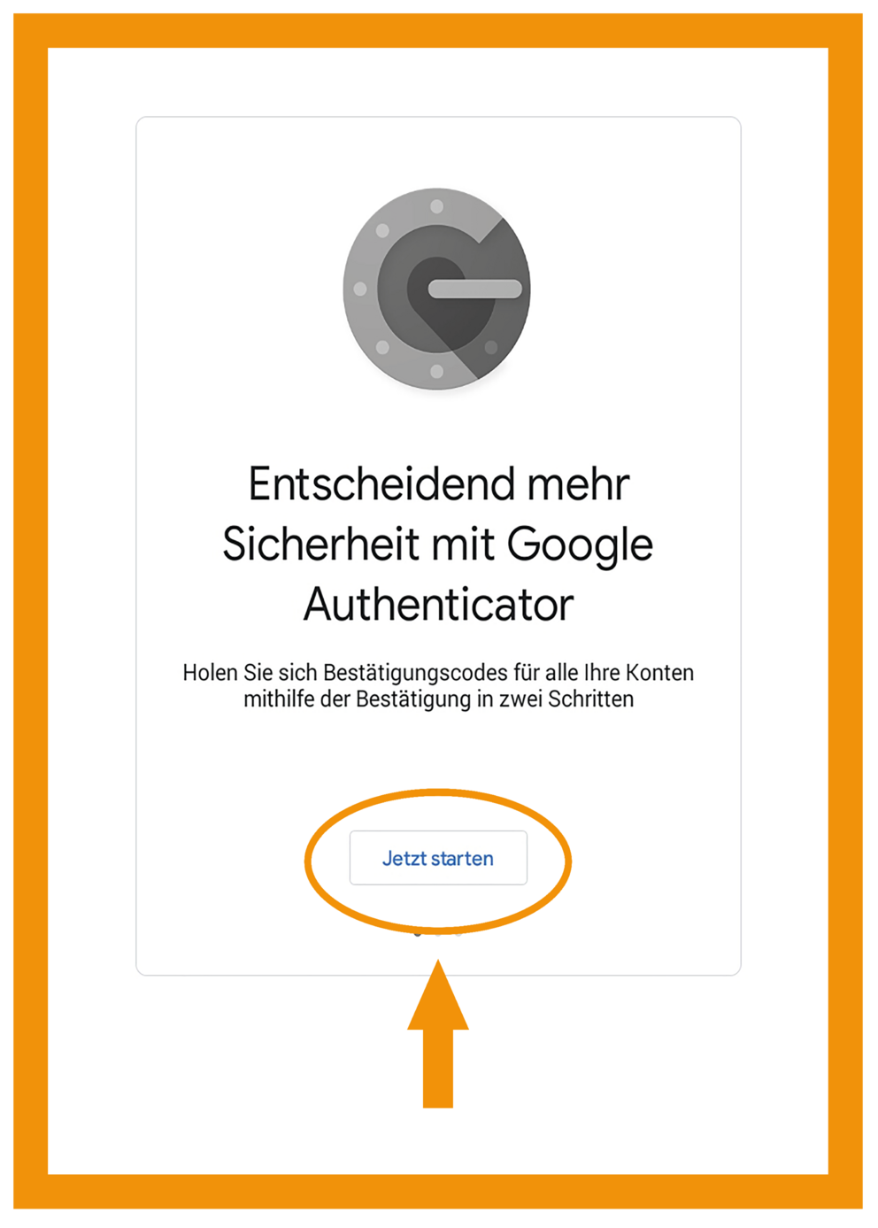 Android Google Authenticator App Schritt 2